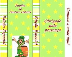 R�tulo Pirulito Mastig�vel