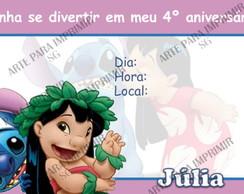 Convite Lilo 2