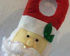 Papai Noel de Ma�aneta Bordado em paet�