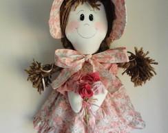 Boneca de pano Emily