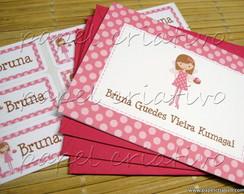 Cart�o Personalizado - menina fada II