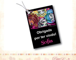 Tag Personalizado - Faces Monster High