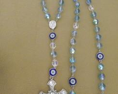 Ter�o Cristal Aqua Blue Zircon Noivas