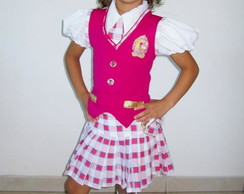 Uniforme Barbie Escola de Princesas
