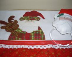Porta pano de prato Papai Noel