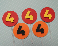 Cod 08575 - Toppers Para Doce