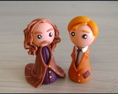 S�rius e Lupin chibis - Harry Potter