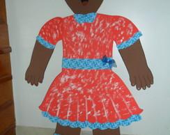 Painel boneca negra