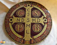 Mosaico Medalha de S�o Bento