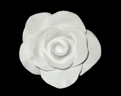 Puxador de resina Rosa Proven�al branca