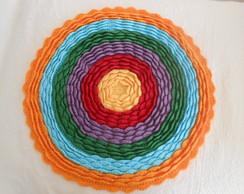 Capa de almofada em Croch�
