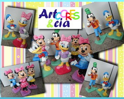 Esculturas Turma do Mickey Disney
