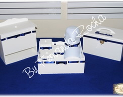Kit Beb� Higiene (Menino) - 8 pe�as