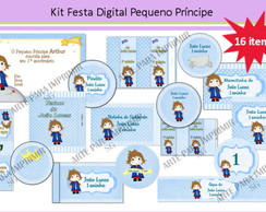 Kit Festa Digital Pequeno Pr�ncipe