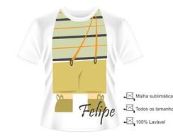 Camisa Fantasia Chaves