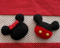 Chaveiros ou �m�s - Mickey ou Minnie