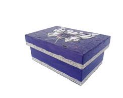 Caixa Borboleta Roxa