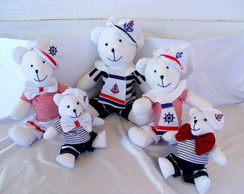 Ursos Marinheiros Decora��o Festa Infant