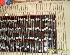 Cortina de Bambu e Croch�