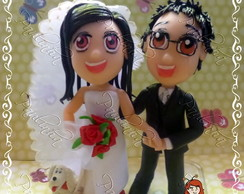 Noivos Estilo MANG�