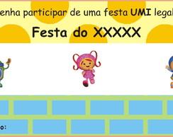 Convite Umizoomi
