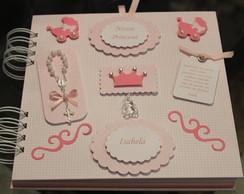 Livro de mensagens Princesa