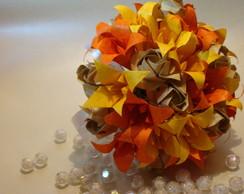 Buqu� De Noiva L�rios De Origami 2013