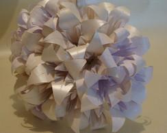 Buqu� De Noiva L�rios De Origami Branco