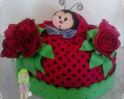 Cobre bolo  joaninha