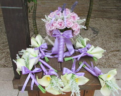 Bouquet porta-alian�as & mini Bouquets