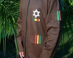 Casaco Reggae Militar Gen. Selassie MAR.