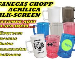 CANECA ACR�LICA DE CHOPP - 500 ml
