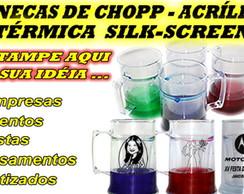 CANECAS DE CHOPP ACR�LICA T�RMICA