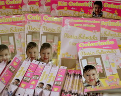 Revista Kit Colorir Quartinho de Beb�