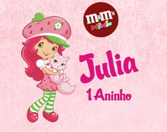 R�tulo De Mini Mm - Moranguinho