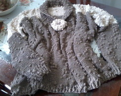 Blusa - Bicolor com mini pompom