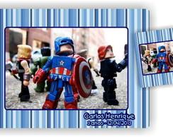 Vingadores Lego Jogo Americano