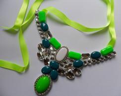 Maxi Colar Verde