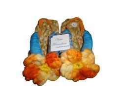 Sand�lia Com Flor De Croch� N�17