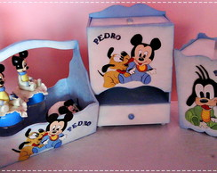Kit de Beb� ou Pe�as Unit�rias (Mickey)