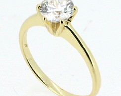 Anel GOLD SOLITAIRE