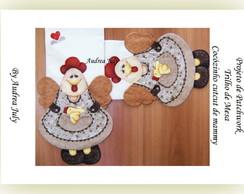 "Trilho de mesa""Cocozinho cutcut de mammy"