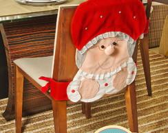 Capa de cadeira da Mamae Noel