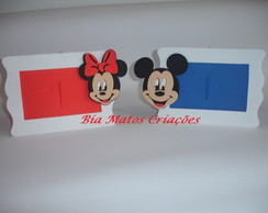 Porta-retrato Minnie e Mickey
