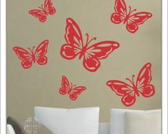 Adesivo 6 borboletas