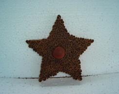 estrela canela c/ olho de boi medio