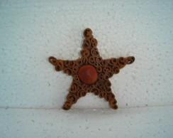 estrela canela c/ olho de boi min cod13A