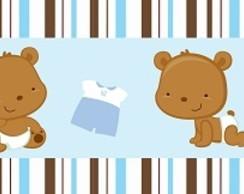 Faixa decorativa para quarto infantil