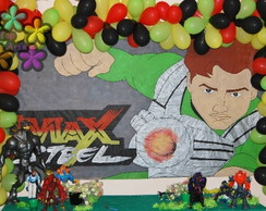 Painel de anivers�rio Max Steel