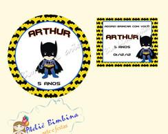Kit adesivo e tag Batman